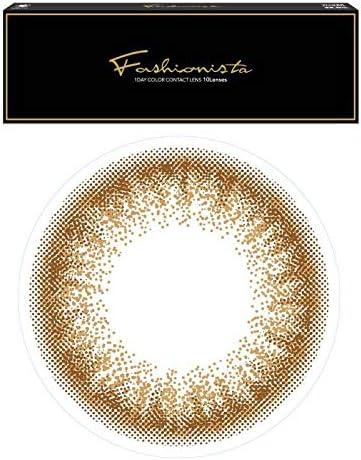 Fashionistaファッショニスタワンデー/10枚入 【ヘーゼルハニー】-3.00