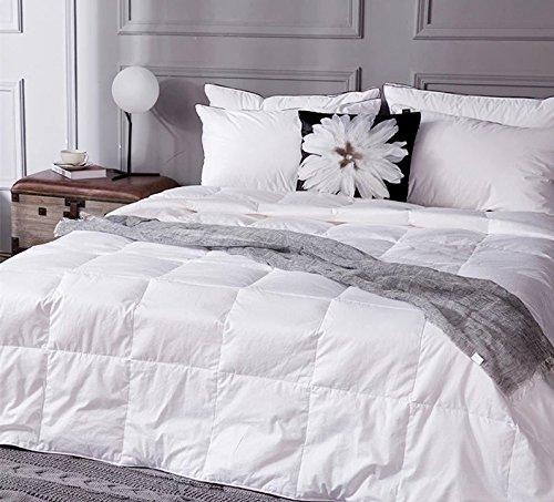 Unite Down Natural 100% Duck Down Comforter/Duvet/Quilt F...