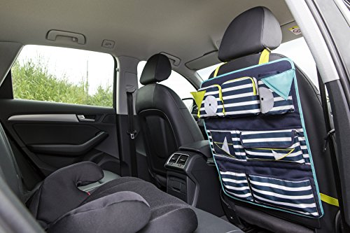 Lassig Kids Car Organizer  Wrap-to-Go Little Monsters Bouncing Bob by Lassig (Image #6)