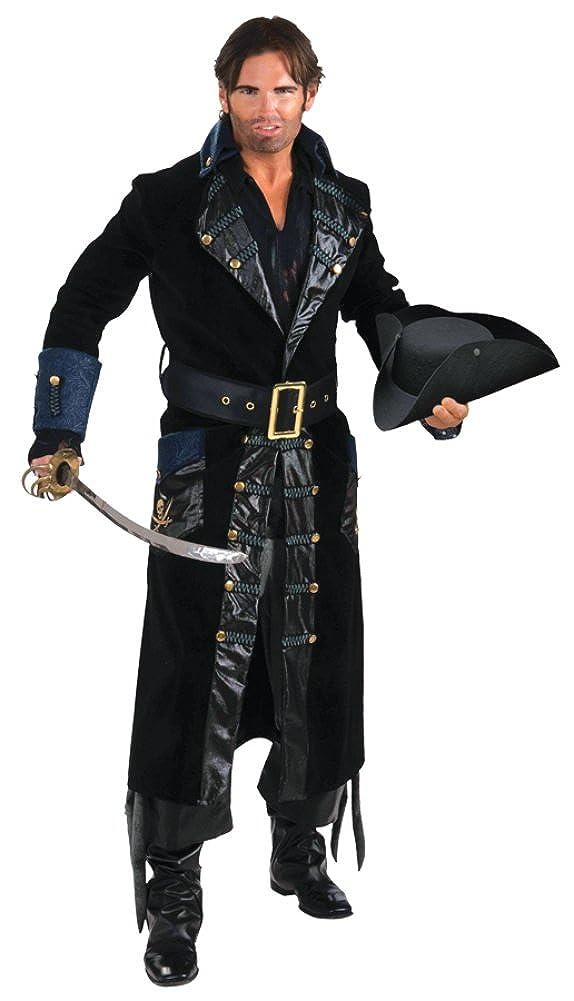 Amazon Forum Novelties Mens Pirate Blackbeard Captain Theme
