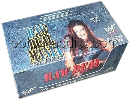 Raw Deal CCG: Mania Starter Deck Box by WWE