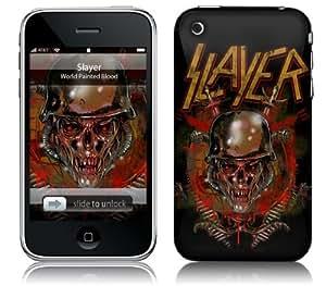 MusicSkins, MS-SLAY30001, Slayer - World Painted Blood, iPhone 2G/3G/3GS, Skin