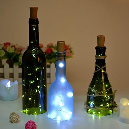 Wine Bottle Lights With Cork Led Cork Lights For Bottle