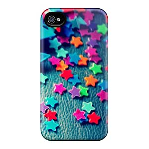Iphone 4/4s Case Cover Plastic Stars Case - Eco-friendly Packaging