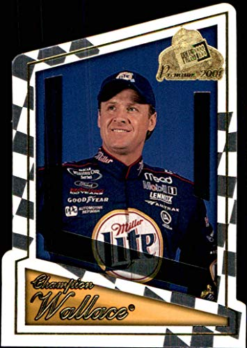 2001 NASCAR Press Pass Premium #56 Rusty Wallace