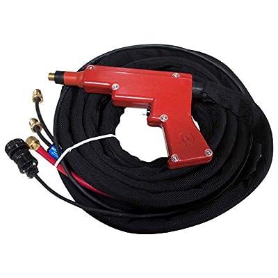 Weldtec TEC 5000-25M5 Water-Cooled TIG Spot Gun Assembly, 25' (Miller