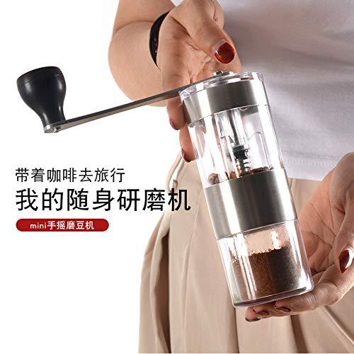 NMTGBDF cafetera Molinillo de café de la mano de la amoladora del ...