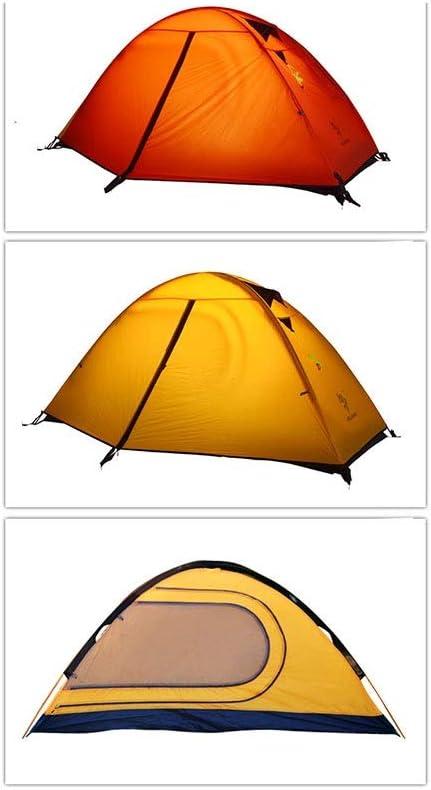 Viento Ligero Tienda al Aire Libre Ultra Ligero Único Anti-tormenta Camping Camping Montañismo Poste de Aluminio Equipo Red
