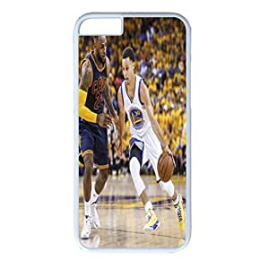 Iphone 6 plus plus Case, Iphone 6 plus plus white case, Hard PC Iphone 6 plus plus Protective Case for Ultimate Protect Iphone 6 plus plus Design with Stephen Curry tries to get by Cleveland Cavaliers