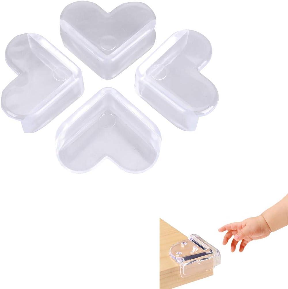 18 Pcs Kits S/écurit/é de B/éb/é 10 Caches Prises S/écurit/é de Courant avec Caches Prises /à M/écanisme Tournant Ulife Mall Pack de Securit/é pour Enfants 8 Protecteurs Dangles Protection Coin de
