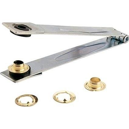 Alicate para Ojetes de metal para toldos y lona + ojetes 10 mm
