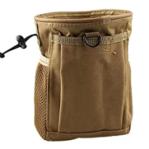 CyberDyer Molle 600D Nylon Tactical Dump Pouch Military Adjustable Belt Magazine Mag