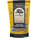 truRoots Organic Sprouted Green Lentils, 10 oz by truRoots