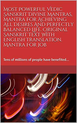 Amazon com: Most Powerful Vedic Sanskrit Divine Mantras, Mantra For
