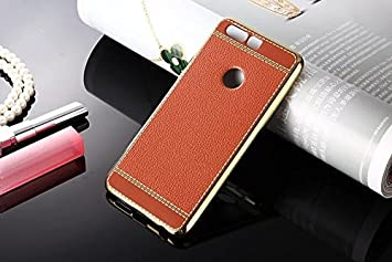 Excelsior Silicon Back Cover case for Huawei Honor 8 Pro   Brown Cases   Covers