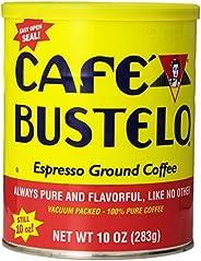 Café Bustelo Coffee Espresso Ground Coffee, 10 Ounces (Pack of 4)