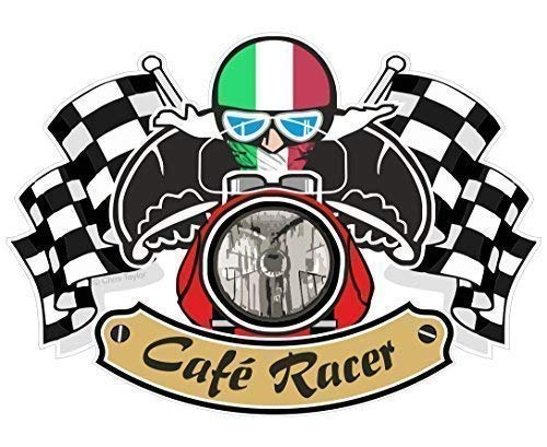 Adhesivo cafe racer