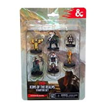 Dungeons & Dragons Fantasy Miniatures: Starter Set Heroes