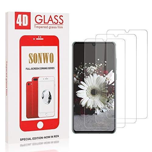 SONWO Panzerglas Schutzfolie für P30, 3 Stück Anti-Kratzen Displayschutzfolie für Huawei P30, 9H Härte, Anti-Kratzen