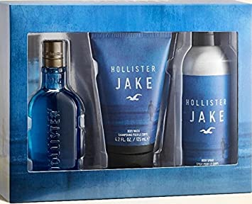 Amazon.com : Hollister Jake 3 Piece Gift Set For Men Brand New in Gift Box : Beauty