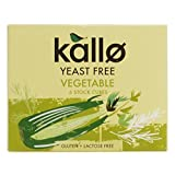 Kallo - Yeast Free Vegetable Stock Cubes - 66g (Pack of 5)