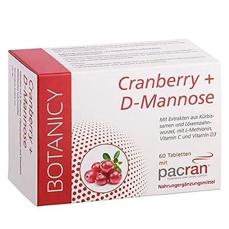 Cranberry + D-Mannose, entzündungshemmend