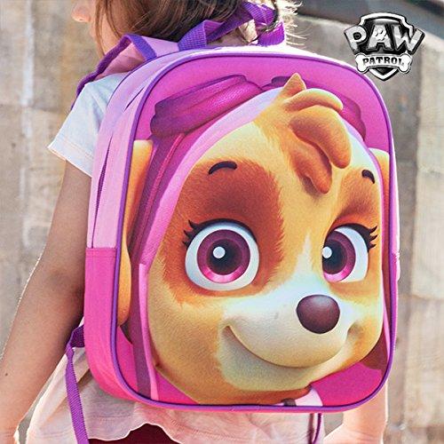Mochila escolar 3D Skye (La Patrulla Canina): Amazon.es: Juguetes y juegos