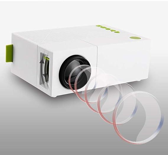 GAOwi Proyector de Alta resolución 1080p LCD LED Proyección 400 ...
