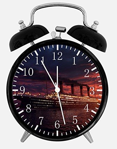 Titanic Alarm Desk Clock 3.75