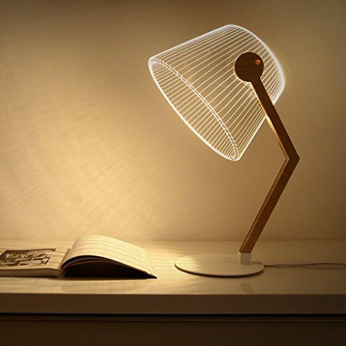 Studio Cheha Ziggy LED Table Lamp | Birch/Acrylic