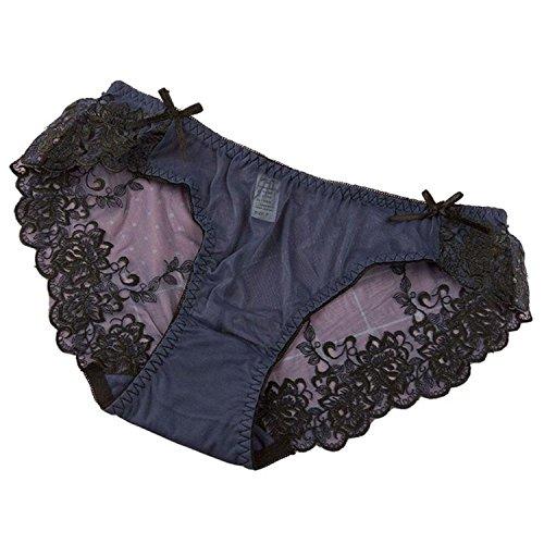 Sexy Underwear Women Transparent g string lace Panties lingerie briefs -