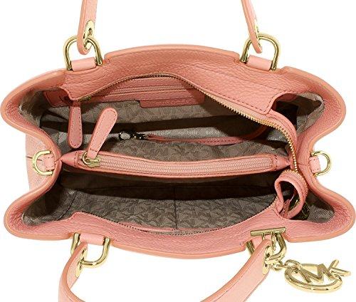 Michael Michael Kors Anabelle M Top Zip sac rose pâle