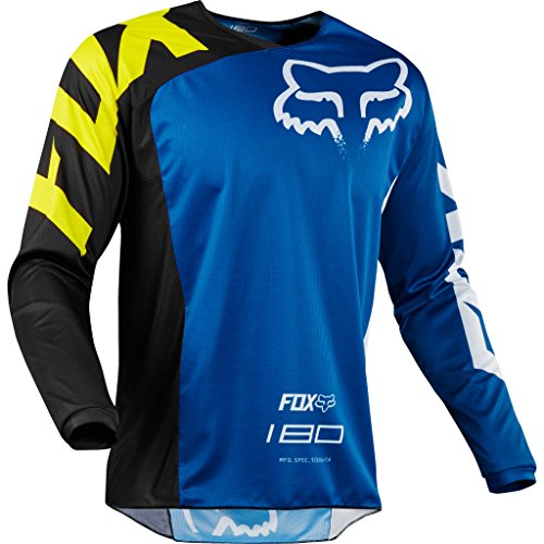 Fox Racing 2018 Youth 180 Race Jersey Blue XL