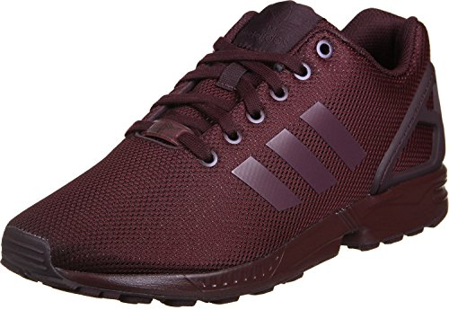 adidas ZX Flux, Scarpe, Unisex Rot(Weinrot)