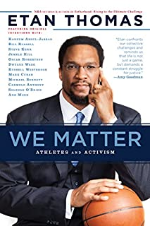 Book Cover: We Matter: Athletes and Activism