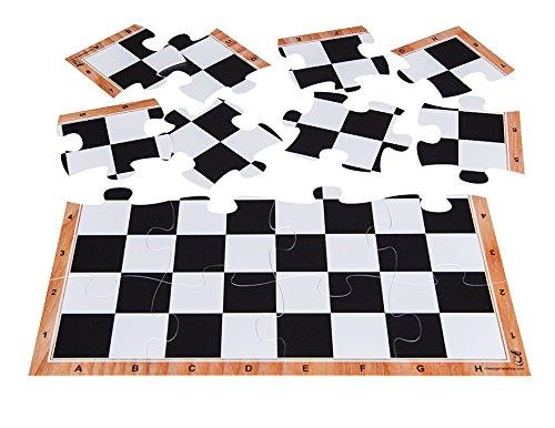 オープニング 大放出セール jigchessボード – チェスボードジグソーパズル15.5