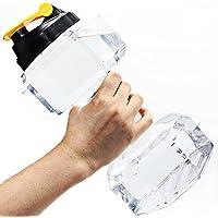 2.2L/75Oz Dumbbell Shape Water Bottle, PETG Eco-friendly...
