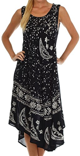 Sakkas Stars Batik Caftan Dress product image