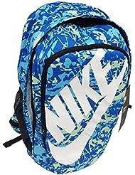 Nike Hayward Futura 2.0 Print Laptop Backpack STUDENT School Bag (Blue)