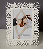 Painting Mantra White Flower Table Photo Frame - 4X6