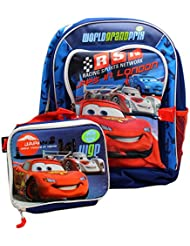 Disney CARS Backpack with lunch - full size backpack