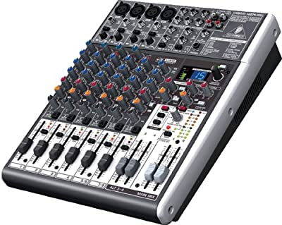 Behringer XENYX X1204USB 12-Channel Mixer by Behringer USA