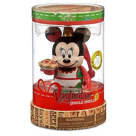 Christmas Jingle Smells Minnie Mouse Pie Disney Vinylmation 3  inch Figure by Disney Theme Parks