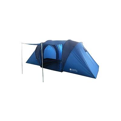 Mountain Warehouse Tente Tunnel Venus 4 personnes camping Moustiquaire Salon et chambre