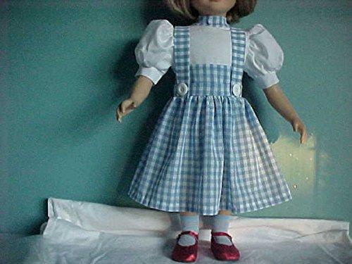 "Handmade!! Dorothy from the Wizard of Oz Dress fits 23"" My Twinn"