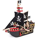 Le Toy Van Wooden Barbarossa Pirate Ship