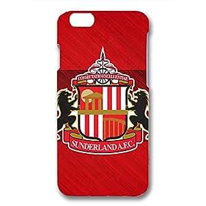 DIY Design FC Sunderland AFC Logo Phone Case Cover For Iphone 6/6S 3D Plastic Phone Case