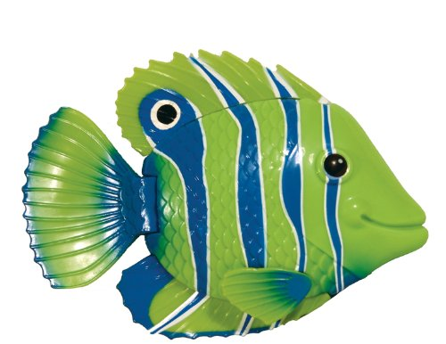 (Swimways Rainbow Reef Mini Fish - Green/Blue/White)