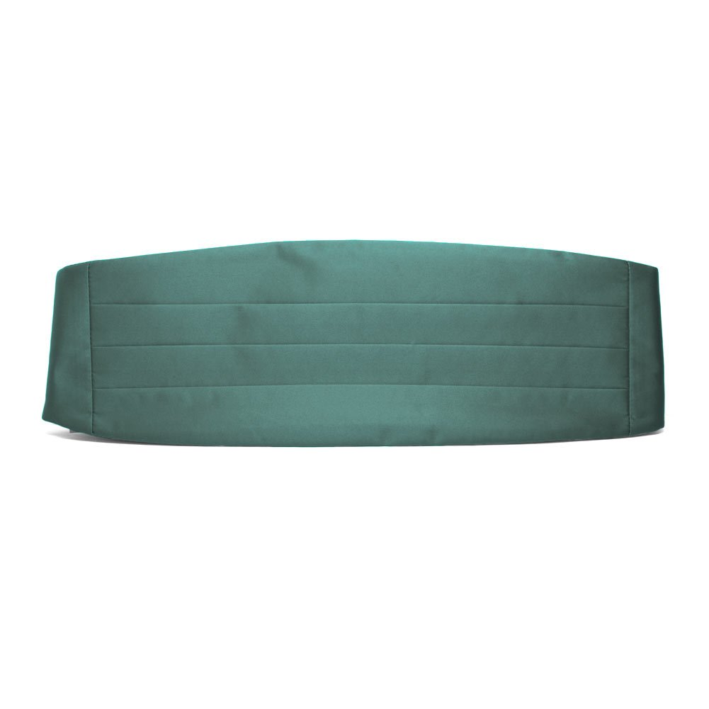 TieMart Sea Green Cummerbund