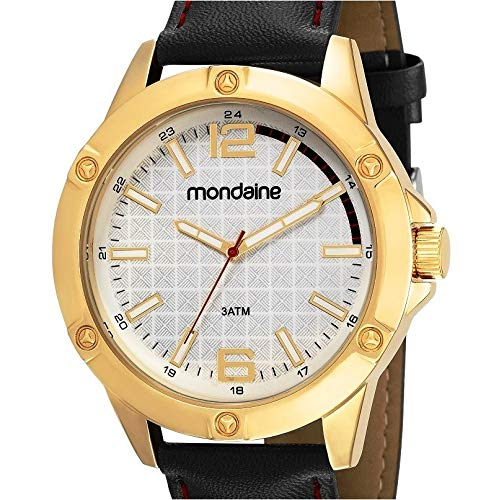 Relógio Mondaine Masculino Casual Puls. Couro 83396Gpmvdh1